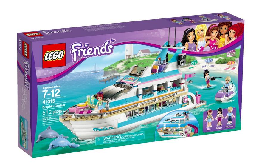 $59.99 LEGO Friends Dolphin Cruiser 41015