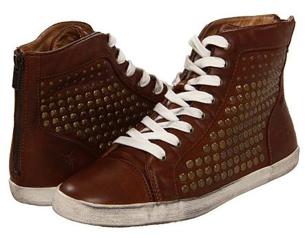 Frye Kira Studded High Women's Sneakers On Sale @ 6PM.com
