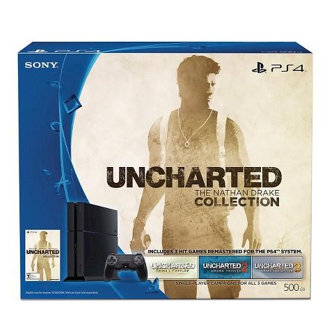 $344.99 PlayStation 4 500GB Uncharted: The Nathan Drake Collection Bundle + $50 Target GC