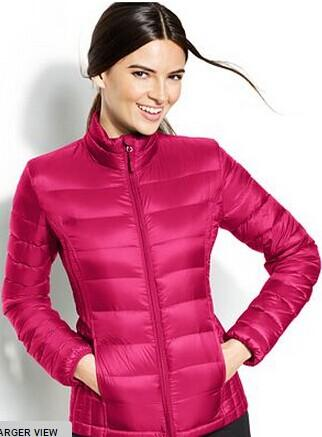 32 Degrees Hooded Packable Down Puffer Jacket @ Macy's