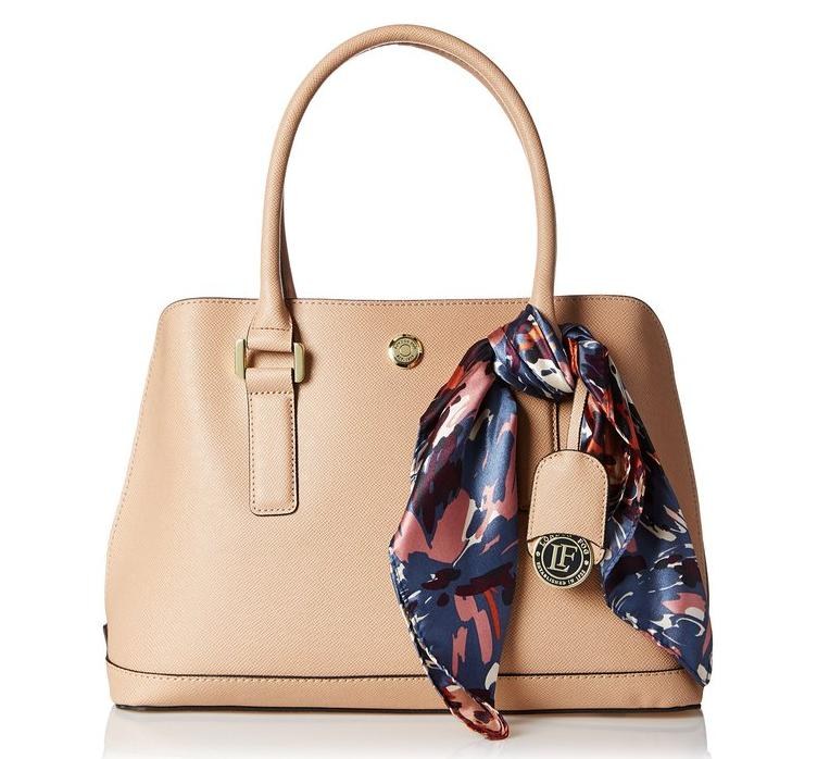 London Fog Clara Dome Top Handle Bag