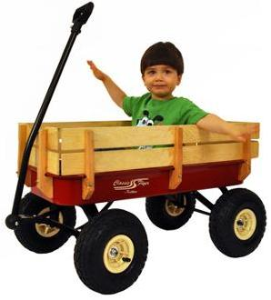 $74 Classic Flyer by Kettler All Terrain Air Tire Metal Wagon