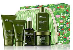 Dealmoon Exclusive! $71.00 ($115.00 value!) Dr. Weil for Origins Mega Relief 5-piece Gift Set with bag- $71.00 ($115.00 value!) @ Origins