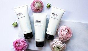 40% Off + 3 Free Samples Sitewide @ AHAVA