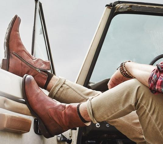 Up to 69% Off Frye Men' Shoes @ 6PM.com