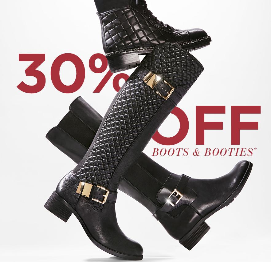 30% Off Boots and Booties at Vince Camuto