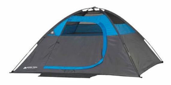 Ozark Trail 7' x 7' Dome Tent, Sleeps 2