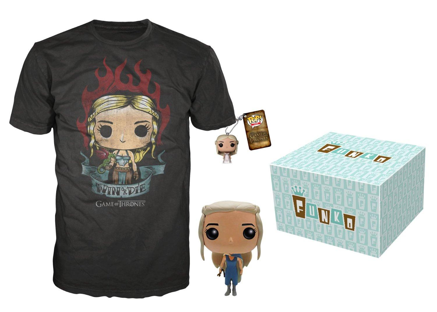 Funko Game of Thrones Daenerys Targaryen Bundle, Large [Amazon Exclusive]