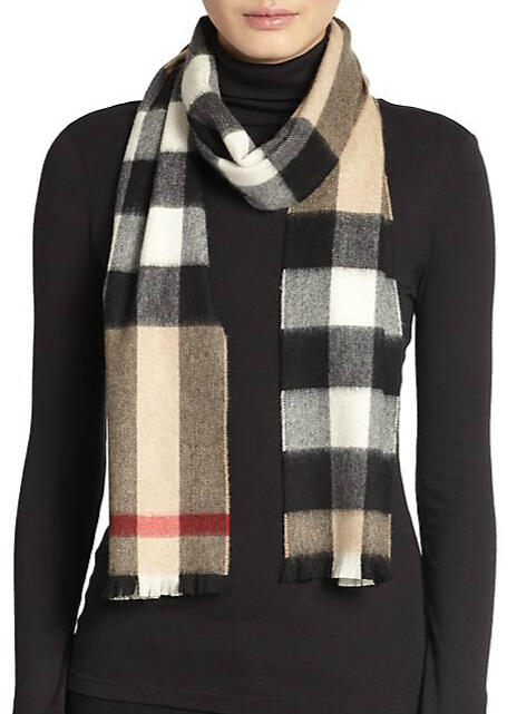 25% Off Select Burberry Scarves @ Saks Fifth Avenue