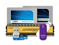 Up to 73% Off Select Crucial and Lexar Memory Products @ Amazon.com