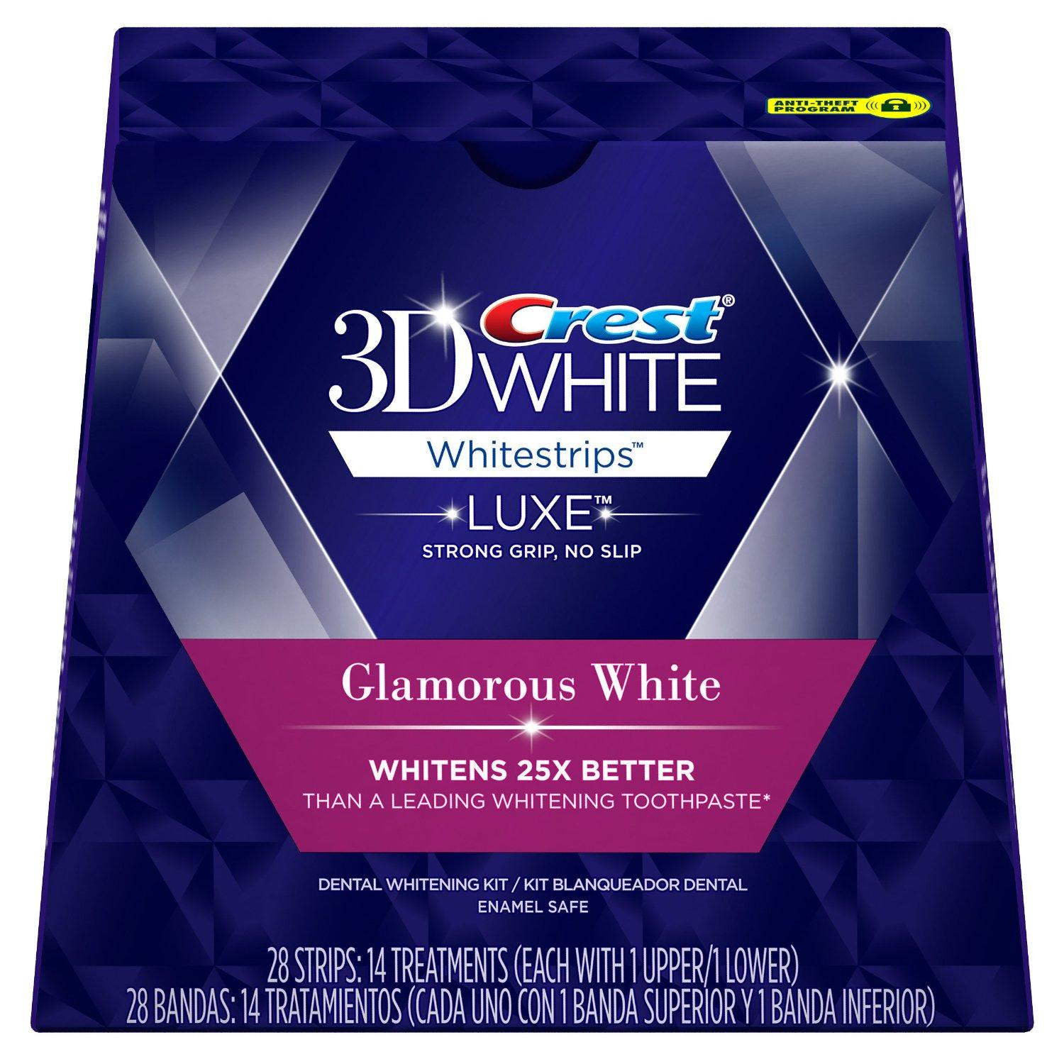$21.28 Crest 3D White Whitestrips with Advanced Seal Technology