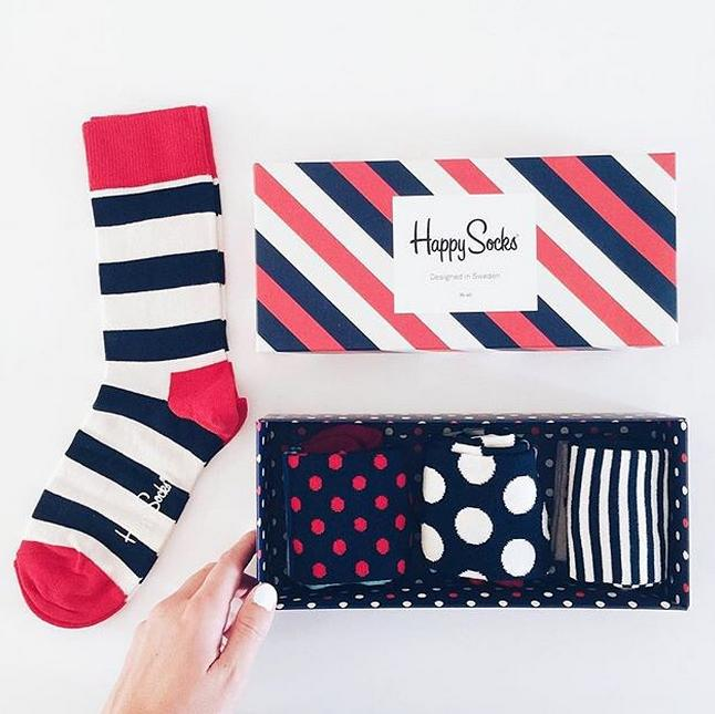 25% Off + Free Shipping Sitewide @ Happy Socks