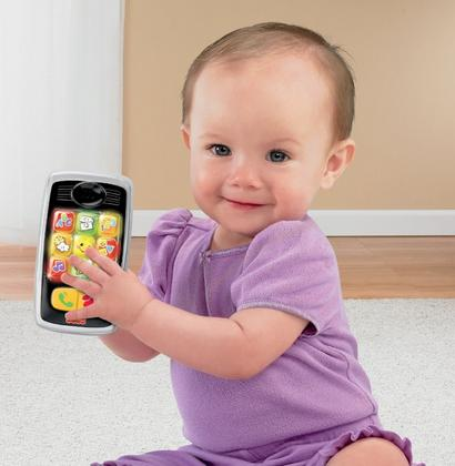 $5.37 Fisher-Price Laugh & Learn Smilin' Smart Phone