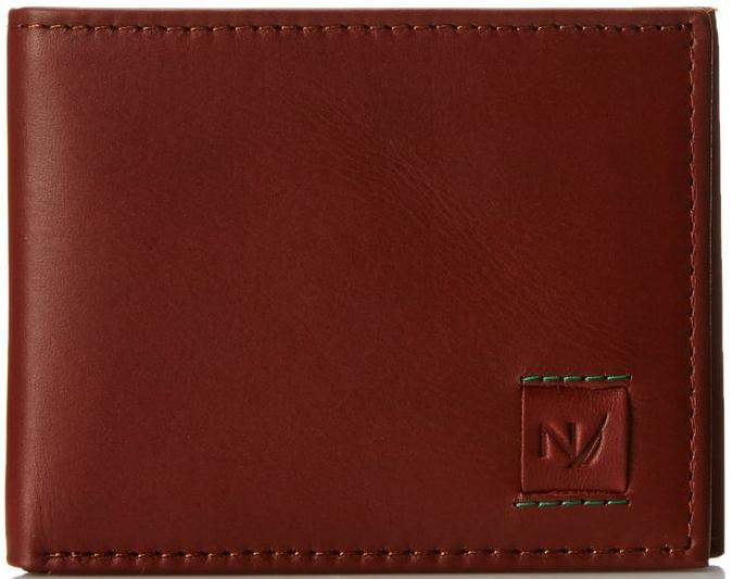Nautica Men's Caravel Slim Billfold with Rfid
