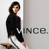 Up to 60% Off + Extra 25% Off Vince Apparel @ Saks Fifth Avenue