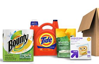 20% Off + $5 gift card with purchase of 2 Household Essentials Sale