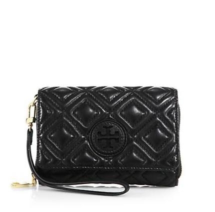 Tory Burch Marion Quilted Smartphone Wallet @ Saks Fifth Avenue