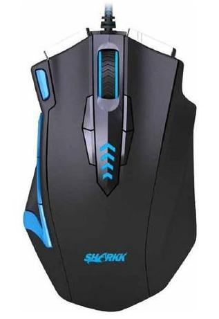 SHARKK 16400 DPI High Precision Programmable Laser Gaming Mouse