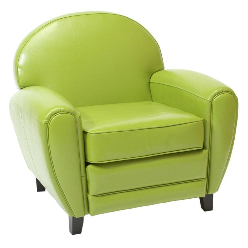 Best Selling Leather Cigar Chair, Green