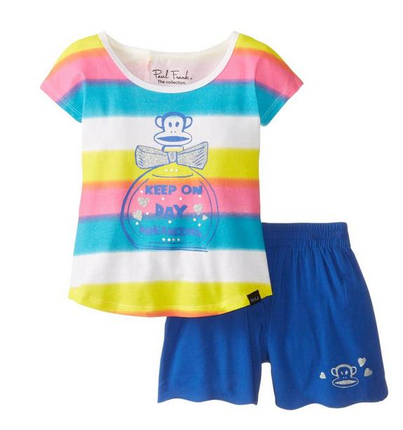 Paul Frank Little Girls' Daydream Two Piece Set