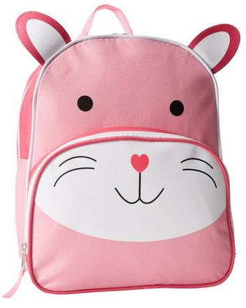Trailmaker Little Girls' Bunny Rabbit Backpack