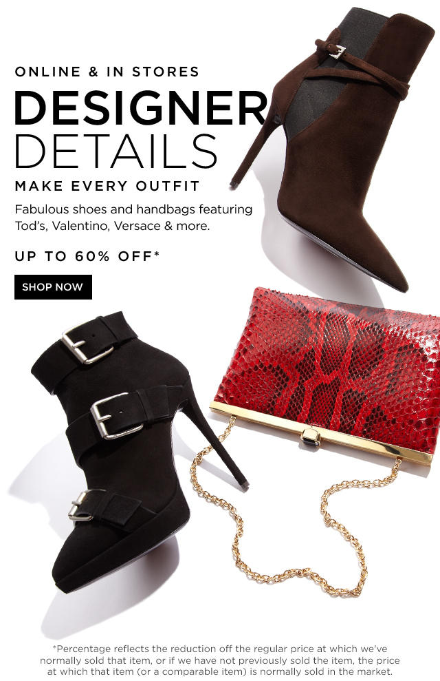 Up to 60% Off Designer Shoes & Handbags @ Saks Off 5th