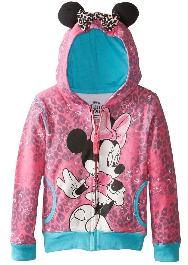 Disney Little Girls' Minnie Hoodie