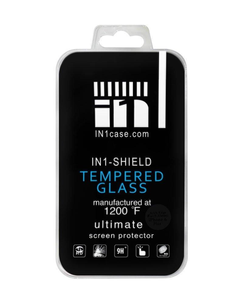 IN1 SHIELD - Ultimate Tempered Glass for iPhone 6/6s plus- Tempered at 1200°F