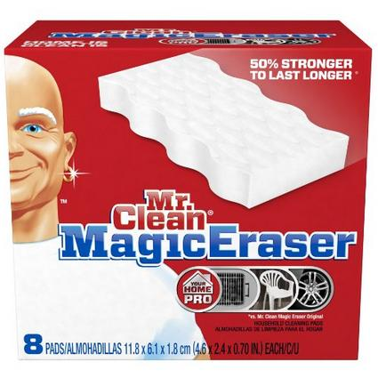 $6.4 Mr. Clean Magic Eraser Extra Power Home Pro, 8 Count Box