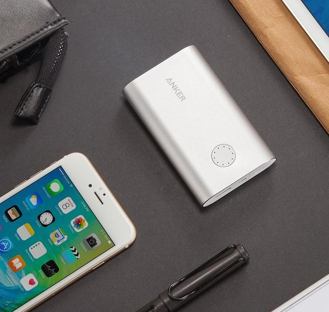 Anker PowerCore+ 10050 with free QC 18W Wall Charger