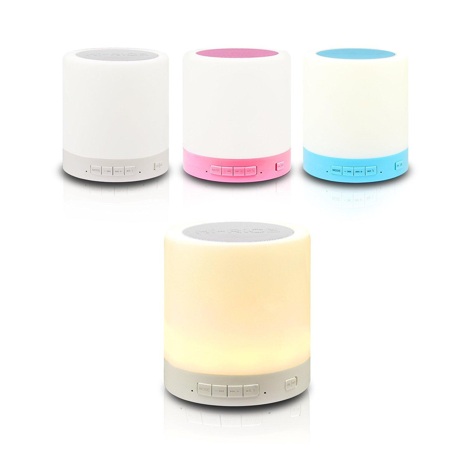 Parihy Pb-3520 Smart Touch Induction Lamp Wireless Bluetooth Music Speaker
