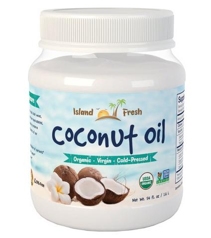 $4.99 Island Fresh SUPERIOR Organic Extra Virgin Coconut Oil