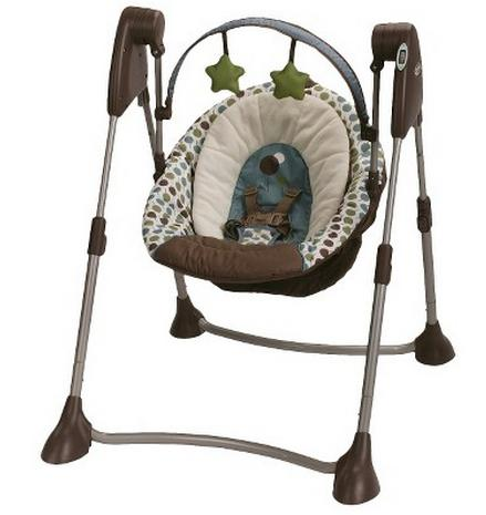 Graco Swing By Me Portable Swing, Dakota