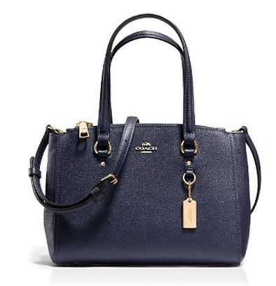 COACH  Stanton Leather Small Carryall