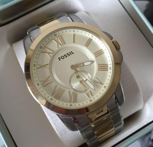 Fossil Grant Dial Two-tone Men's Watch FS5026
