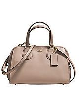 COACH  Nolita Leather Satchel Bag