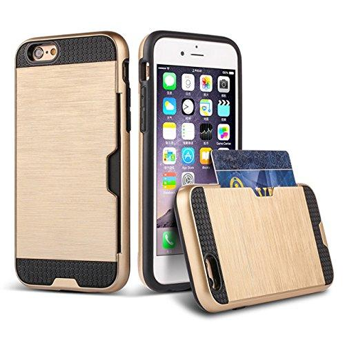 iPhone 6s Case,Thinkcase Card Slot Protective Cover Case for iPhone 6s 4.7inch