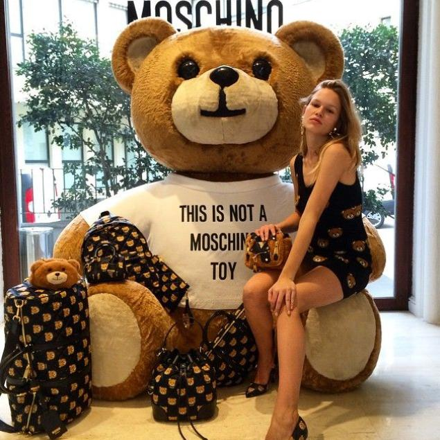 25% Off Moschino Bear Items @ Shopbop