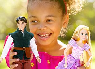Buy One, Get One for $1 Select Styles Classic Dolls @ Disney Store