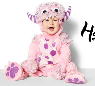 Up to 60% Off Select Halloween Costumes For Babies @ Amazon.com