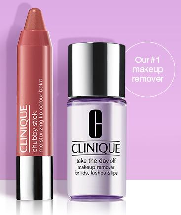 Free Chubby Lip Balm and Makeup Remover With Any $30 Purchase @ Clinique
