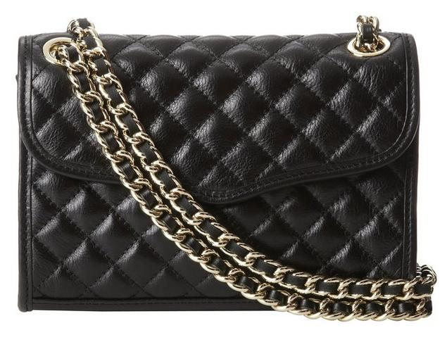 Rebecca Minkoff Quilted Mini Affair Shoulder Handbag