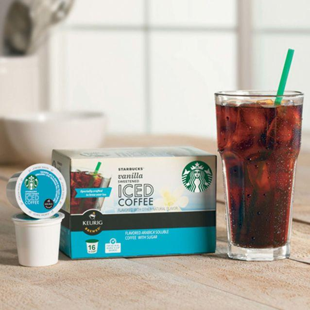 Buy 1 Get 2 Free + Extra 15% off Starbucks K-Cup Iced Coffee/Tea