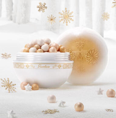 $80 Limited Edition for Chistmas 2015 Guerlain Limited Edition Meteorites Perle Des Neiges - Winter Fairy Tale Collection