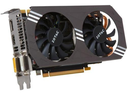 ZOTAC GeForce GTX 970 ZT-90101-10P 4GB 256-Bit GDDR5 PCI Express 3.0 x16 HDCP Ready SLI Support G-SYNC Support Video Card