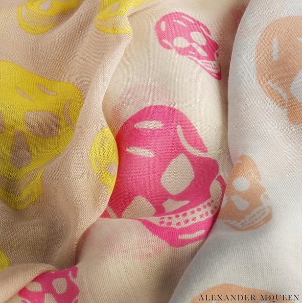 Up to 60% Off Alexander McQueen Scarves On Sale @ 6PM.com
