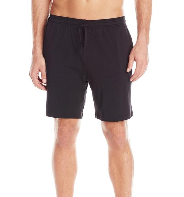 BOSS HUGO BOSS Men's Solid Cotton Jersey Lounge Short