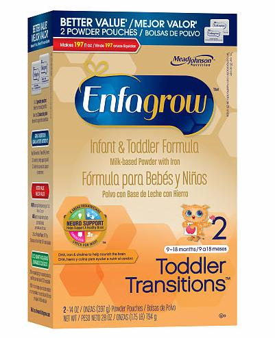 20 Off 4-pack Enfagrow Stage 2 Toddler Transitions