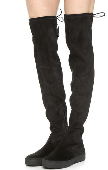 Stuart Weitzman Playtime Over the Knee Boots