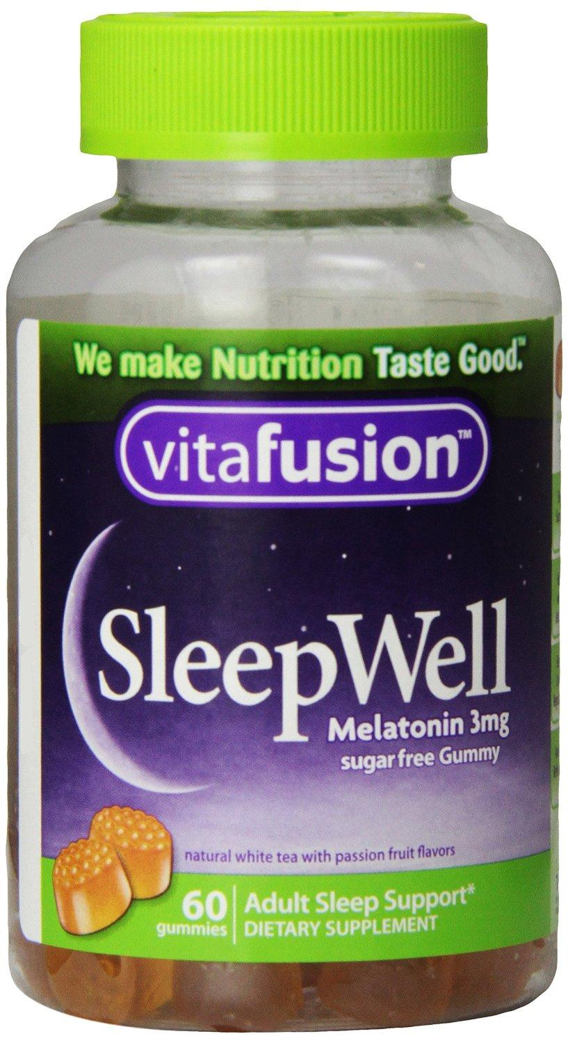 Vitafusion Sleep Well Gummy Vitamins, 60 Count (Pack of 3)